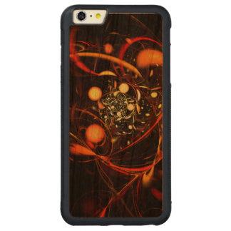 心拍の抽象美術 CarvedチェリーiPhone 6 PLUSバンパーケース