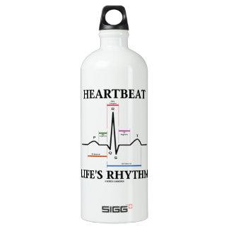 心拍の生命のリズム(ECG/EKG) ウォーターボトル