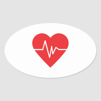 心拍 卵型シール