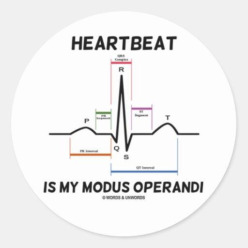 心拍|私|方式|Operandi|(心電図) シール