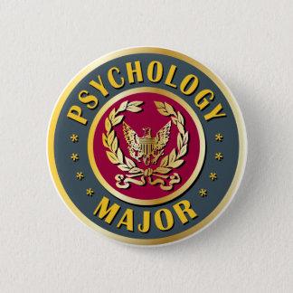 心理学の専攻学生 5.7CM 丸型バッジ