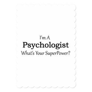 心理学者 12.7 X 17.8 インビテーションカード