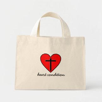 心臓の異常 ミニトートバッグ