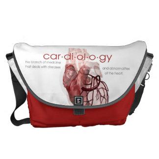 心臓学のバッグ メッセンジャーバッグ
