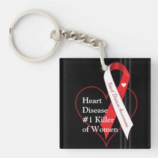 心臓病の認識度 キーホルダー