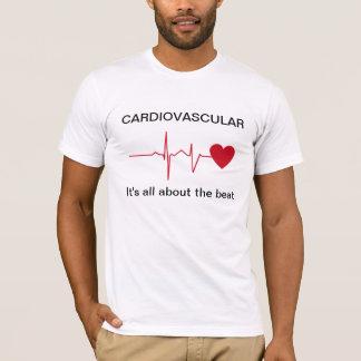 心血管のハートの健康のTシャツ Tシャツ