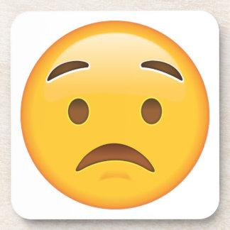 心配した顔- Emoji コースター