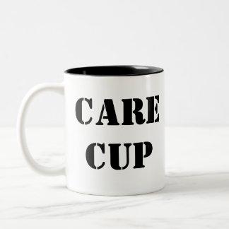 心配のコップ ツートーンマグカップ