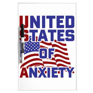 心配の米国 ホワイトボード