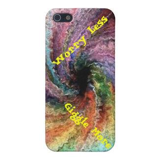 心配より少ないくすくす笑いより多くの電話箱 iPhone 5 CASE