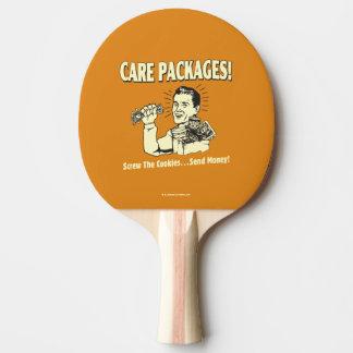 心配パッケージ: ねじクッキーは$を送ります 卓球ラケット