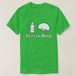 心-フォント2のビール Tシャツ