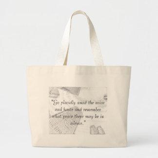 必要なもののバッグ ラージトートバッグ