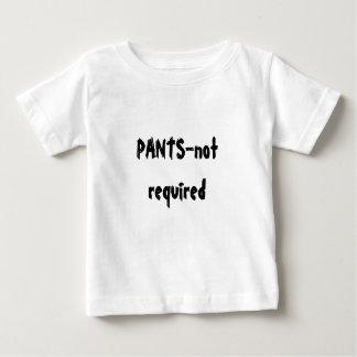 必要なズボンない ベビーTシャツ