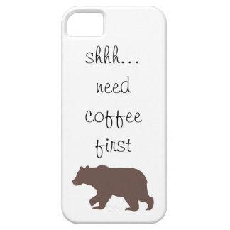 必要性のコーヒー電話箱 iPhone SE/5/5s ケース