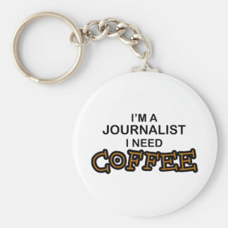 必要性のコーヒー-ジャーナリスト キーホルダー