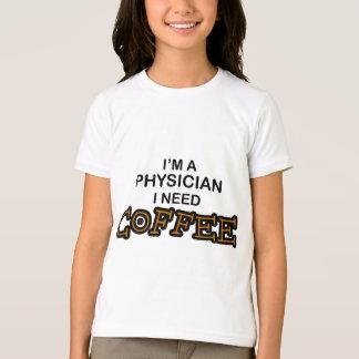 必要性のコーヒー-医者 Tシャツ