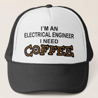 必要性のコーヒー-電気技師 キャップ