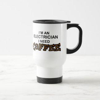 必要性のコーヒー-電気技師 トラベルマグ