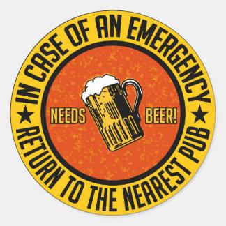 必要性ビール! ステッカー