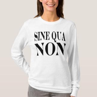 必要条件の有名なラテン系の引用文: 住む単語 Tシャツ