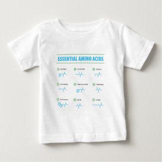 必須アミノ酸 ベビーTシャツ