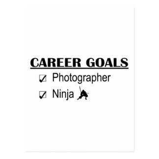 忍者のキャリアのゴール-カメラマン ポストカード