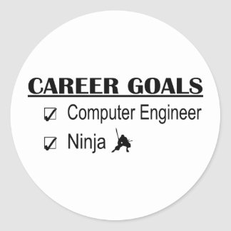 忍者のキャリアのゴール-コンピューター技術者 ラウンドシール
