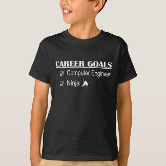 忍者のキャリアのゴール-コンピューター技術者 Tシャツ