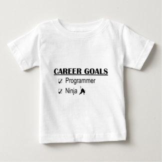 忍者のキャリアのゴール-プログラマー ベビーTシャツ