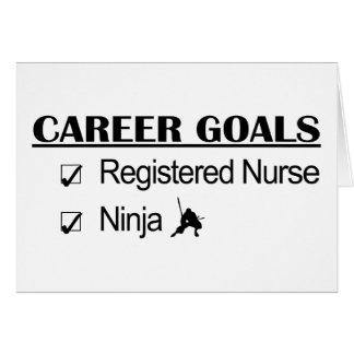 忍者のキャリアのゴール-公認看護師 カード