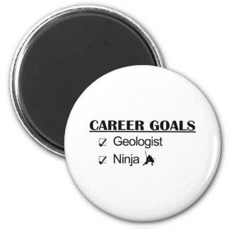 忍者のキャリアのゴール-地質学者 マグネット
