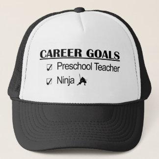 忍者のキャリアのゴール-就学前の先生 キャップ