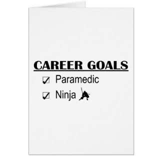 忍者のキャリアのゴール-救急医療隊員 カード