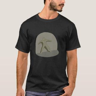 忍者のスポットライト Tシャツ