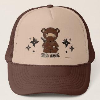 忍者のテディ! Shurikensの帽子を使って キャップ