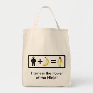 忍者のバナナのバッグ トートバッグ