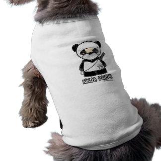 忍者のパンダ! ペット衣類 ペット服