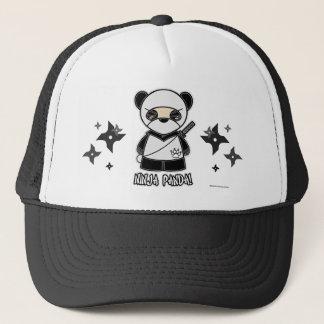 忍者のパンダ! Shurikensの帽子を使って キャップ