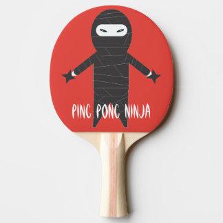忍者の卓球ラケット ピンポンラケット