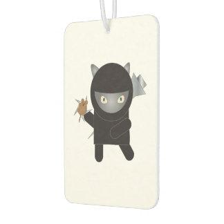 忍者の子猫 カーエアーフレッシュナー
