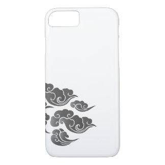 忍者の戦士は入れ墨のiPhone 7の箱を曇らせます iPhone 8/7ケース