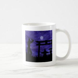 忍者の攻撃 コーヒーマグカップ