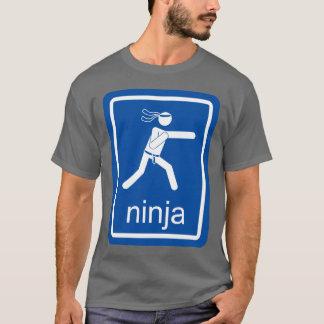忍者の自在継手の印 Tシャツ