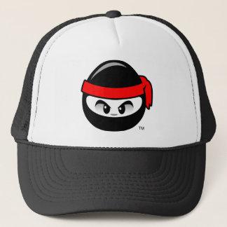 忍者の頭部(赤い) キャップ
