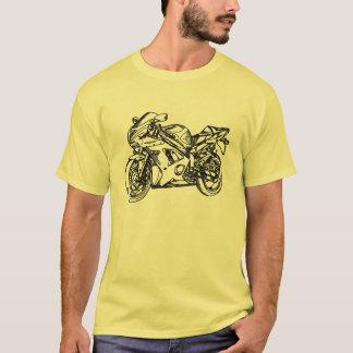 忍者のSportbikeの芸術のTシャツ Tシャツ