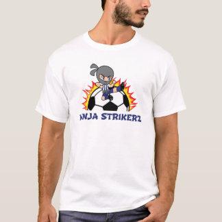 忍者のStrikerzのワイシャツ Tシャツ