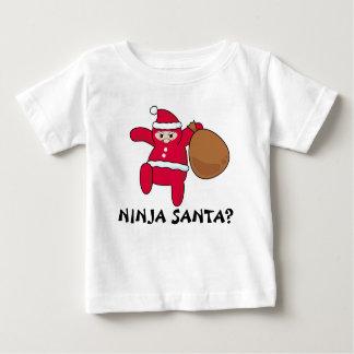 忍者サンタか。 ベビーTシャツ