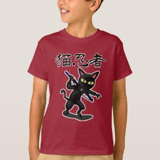 忍者猫 Tシャツ