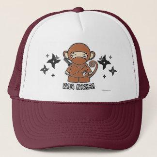 忍者猿! Shurikensの帽子を使って キャップ